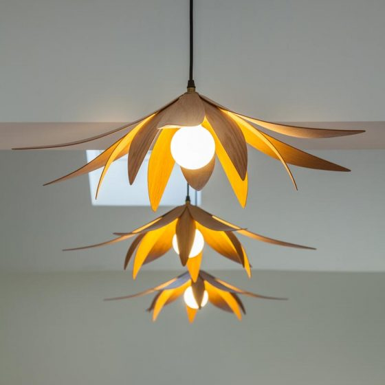 Lotus Pendant Light