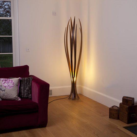 Iris Floor Light