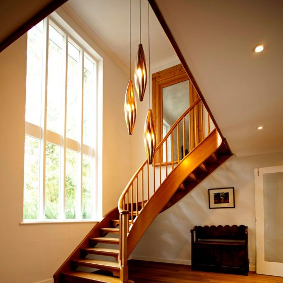 Stairwell Lighting - Cocoon Pendant Light