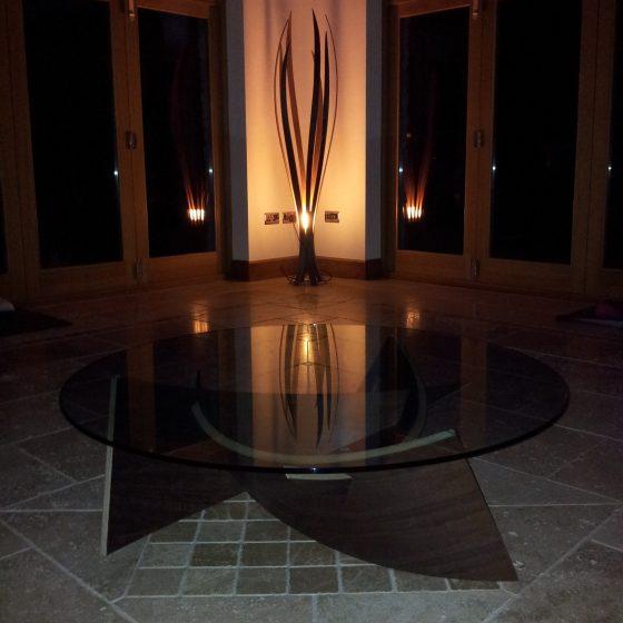 Unique Floor Lighting – Iris Floor Light