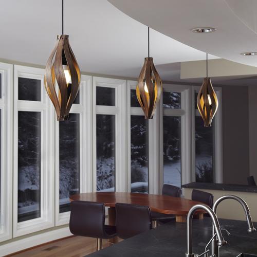 Stairwell Lighting – Cocoon Pendant Light