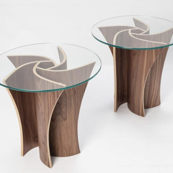 Spiral Side Table